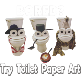 Interesting and Creative Toilet Paper Printable PU Hot-Fix Transfer