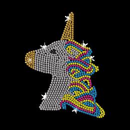 Special Bling Rhinestone Unicorn Transfer