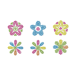 Little Flowers Fresh Style Neon Stud Transfer