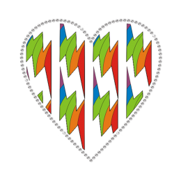 The Tropical Style Heart Heat Transfer