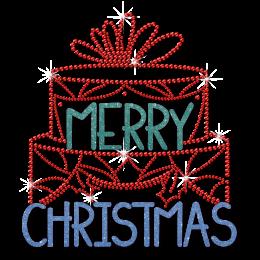 Big Cake Merry Christmas Glitter and Printable Vinyl Transfer