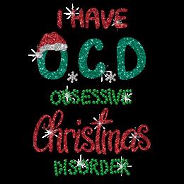 Obsessive Christmas Discover Glitter Hot Press Transfer