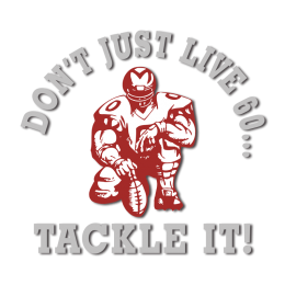 Tackle It American Football Iron on Design