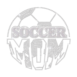 ISS Soccer Mom Crystal Pattern