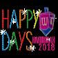 Metal Rhinestud Happy Days Happy Hanukkah 2018 Transfer