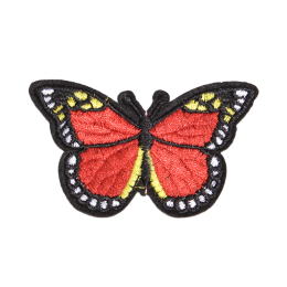 Special Red Butterfly Iron on Customized Patches