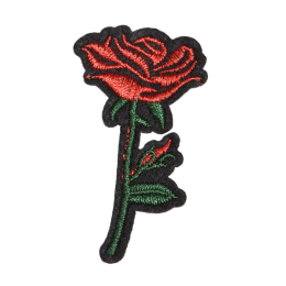 Give Rose to Your Beloved One Embroidery Patch