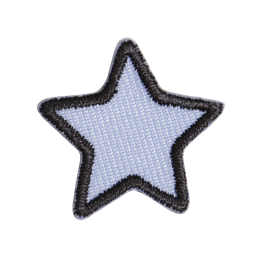 Small Star Applique Embroidery Patch for Cloth