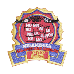 Football Spirit All American Scholar Badge