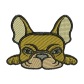 Cool Patches French Bulldog Embroidery For Beginners