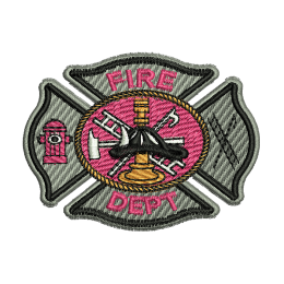 Fire Department Embroidery On Shirts Sew On Patches