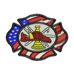 Fire Department Embroidery Services Vest Patches