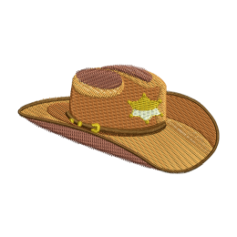 Sheriff Hat Embroidery Services Near Me Cool Patches