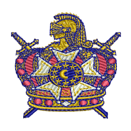 Demolay Boys Embroidery Designer Patches For Jackets