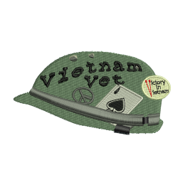 Vietnam Veteran Military Embroidery For Beginners Back Patch