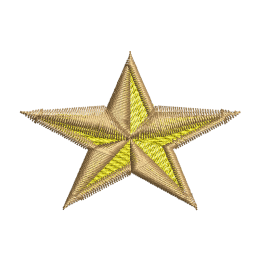 Military Star Embroidery Custom Patches
