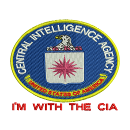 Cia Seal Military Embroidered Appliques