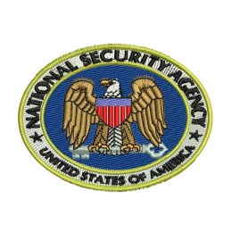 National Security Agency Embroidery For Beginners Iron On Patches