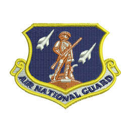 Air National Guard Military Embroideryonline Punk Patches