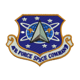 Air Force Space Command Embroidery Shop Patches For Clothes