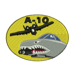 A-ten Warthog Embroidery Digitizing Vest Patches