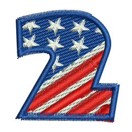 Star Spangled Number 2 Embroidery Shops Near Me