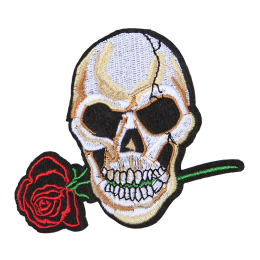 The Fatal Romance Fancy Embroidery Patch