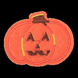 Pumpkin Motif Embroidery Patch