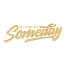 Gold Glitter Hymn for the Someday Patch