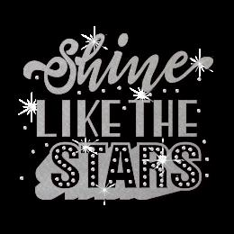 ISS Shine Like The Star Nailhead Motif