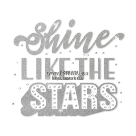 ISS Shine Like The Star Nailhead Motif