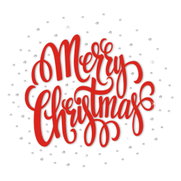 Red Christmas Themed Rhinestone Transfer for Shirts