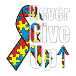 Never Give Up Fight the Cancer Heat Transfer