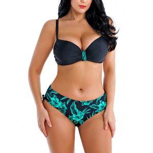 Over Size Sexy Pattern Print Bikini Sets