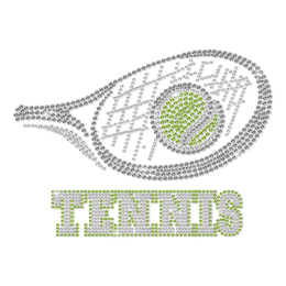 Best Bling Tennis You Are Looking For Custom Rhinestone Transfer
