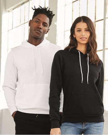 BELLA + CANVAS-Unisex Sponge Fleece Hoodie-3719