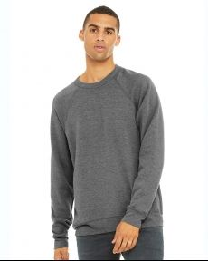 BELLA + CANVAS-Unisex Sponge Fleece Raglan Sweatshirt-3901