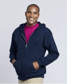 Gildan-DryBlend® Full-Zip Hooded Sweatshirt-12600