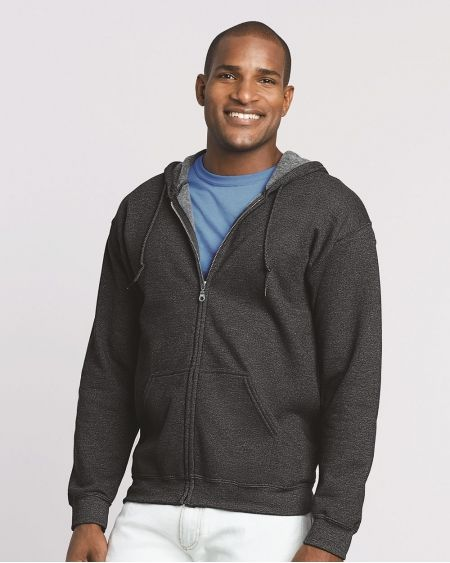 Gildan-Heavy Blend™ Full-Zip Hooded Sweatshirt-18600