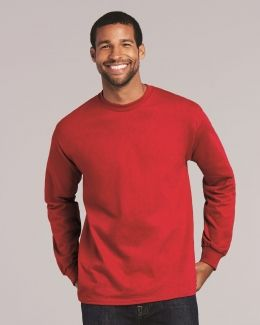 Gildan-Ultra Cotton® Long Sleeve T-Shirt-2400