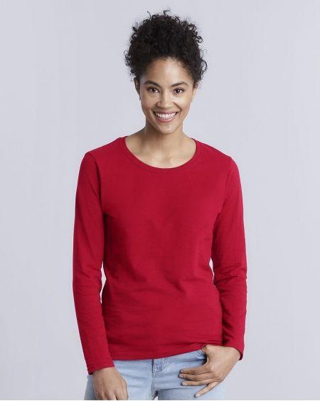 Gildan-Heavy Cotton™ Women's Long Sleeve T-Shirt-5400L