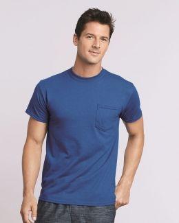 Gildan-DryBlend® Pocket T-Shirt-8300