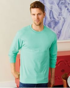 Hanes-Beefy-T® Long Sleeve T-Shirt-5186