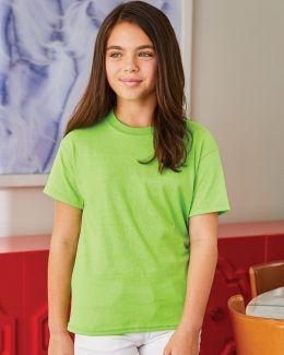 Hanes-Ecosmart™ Youth Short Sleeve T-Shirt-5370