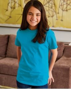 Hanes-Tagless® Youth Short Sleeve T-Shirt-5450