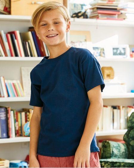 Hanes-ComfortSoft Youth T-Shirt-5480