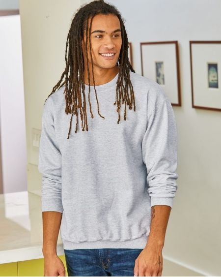 Hanes-Ultimate Cotton® Crewneck Sweatshirt-F260