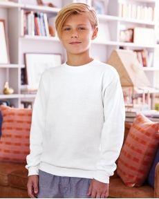 Hanes-Ecosmart® Youth Crewneck Sweatshirt-P360