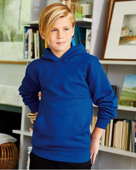 Hanes-Ecosmart® Youth Hooded Sweatshirt-P473