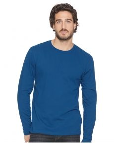 Next Level-Cotton Long Sleeve Crew-3601